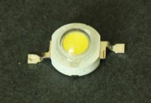Светодиод белый 1W (130-140 lm) холод