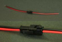 Коннектор с проводами 24AWG