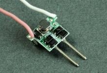 LED драйвер AC/DC 12V/8-25V (1-3) x 1W, 300 mA