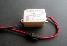 LED драйвер в корпусе JX 1 x 3W, 600 mA