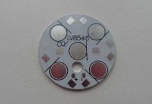 Алюминиевая плата круглая 1R4 28 мм 5W