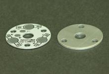 Алюминиевая плата круглая 32 мм 3W