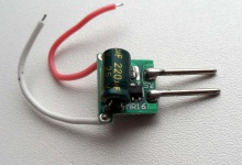 LED драйвер AC/DC 12V/6-35V 3 x 2W, 450 mA