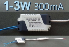 LED драйвер P (1-3) x 1W, 300 mA